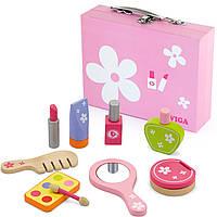 Набор для макияжа игрушечный детский Viga Toys (50531)