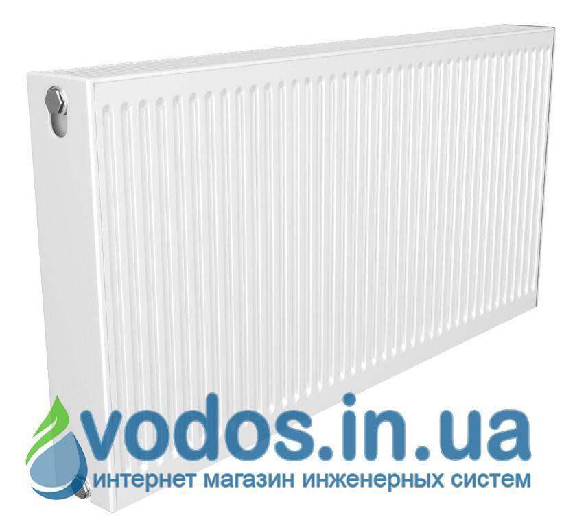 Радиатор отопления Quinn Quattro стальной панельный боковой K21  400 x 1800 мм  2375 Ватт - Q21418KD (Бельгия).
