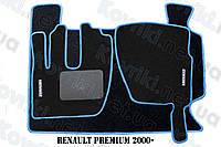 Ворсовые (тканевые) коврики в салон Renault Premium(1996-2006)