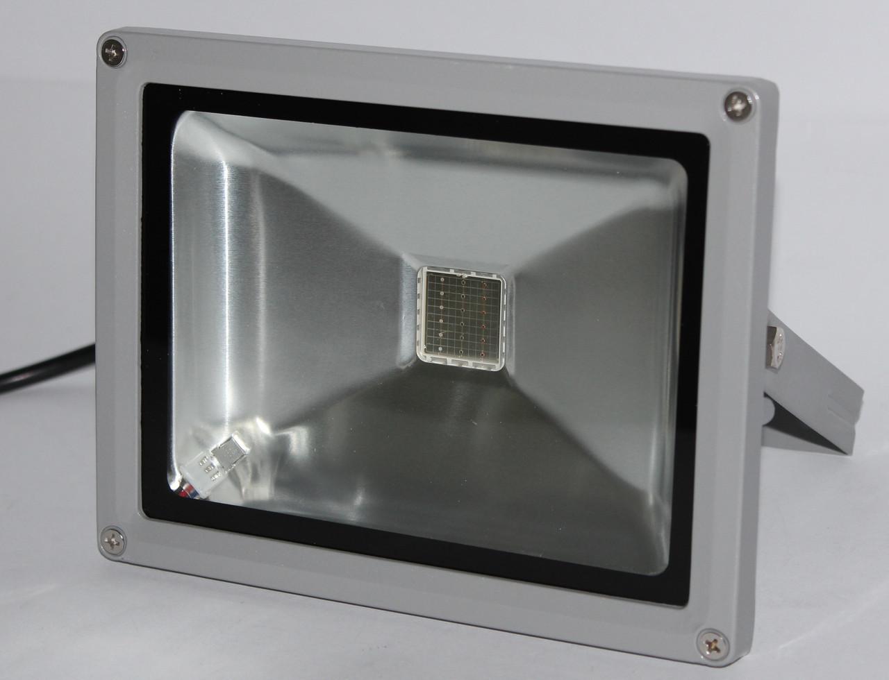 LED прожектор многоцветный с пультом 25 Вт
