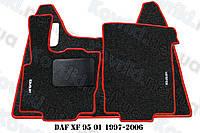 Ворсовые (тканевые) коврики в салон DAF XF 95 01(1997-2006)