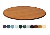 Столешница Werzalit by Gentas круглая Диаметр 60 см x любой цвет, за штуку