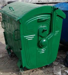 Б/в сміттєвий контейнер реставрований 1,1 м3