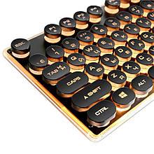 Игровая клавиатура в Ретро стиле с подсветкой. Gaming Keyboard USB