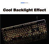 Игровая клавиатура в Ретро стиле с подсветкой. Gaming Keyboard USB , фото 10