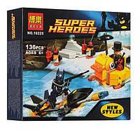 Конструктор Bela 10225 Супергерои Встреча с Пингвином (аналог Lego Super Heroes 76010)