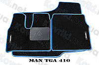 Ворсовые (тканевые) коврики в салон MAN TGA 410