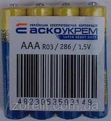 Батарейка ААА Аско R03 (4шт)