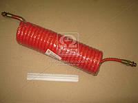 Шланг витой полиуретан М16x1,5 (красный) 7 м MERCEDES, MAN (98702262-R) <ДК>