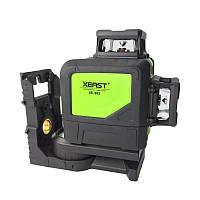 Лазерный нивелир лазерный уровень 2D Xeast XE902G зеленый лазер