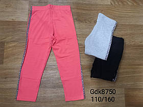 Лосины для девочек оптом, Glo-story, размеры 110-160, арт. GDK-8750