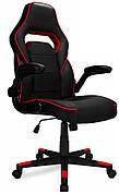 Кресло компьютерное игровое спортивное STRIKE Красное НАЛОЖКА