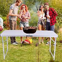 Раскладной портативный стол для пикника 120х60см
