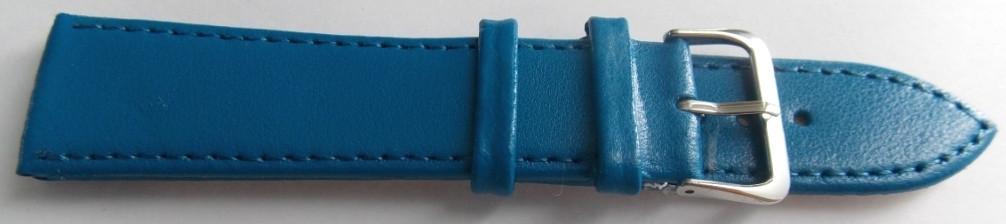 Ремешок кожаный LUX-PL (Польша) 22 мм, мурено