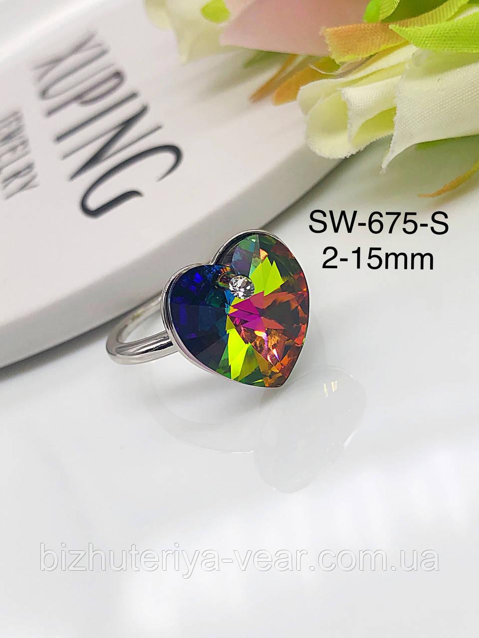 КОЛЬЦО XUPING SWAROVSKI Sw-675(6,7,8,9,10)