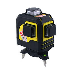 Лазерний рівень 3D Firecore F93TR 360 градусів 12 ліній 3 площині червоний лазер