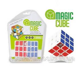 Кубик Рубіка 3*3*3 з таймером Magic Cube білий корпус
