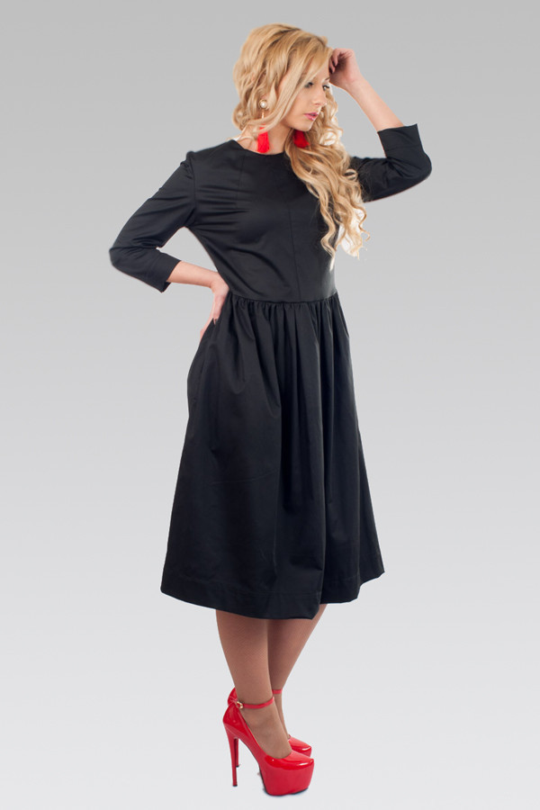 Женское платье (42-50)  8002