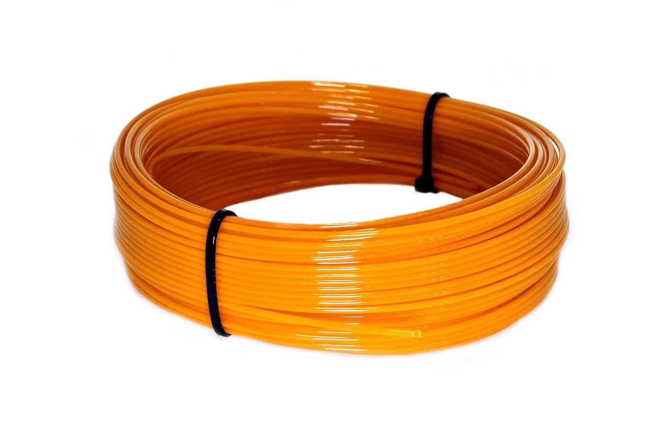 Пробник PET-G Оранжевый (1,75 мм/100 грамм)
