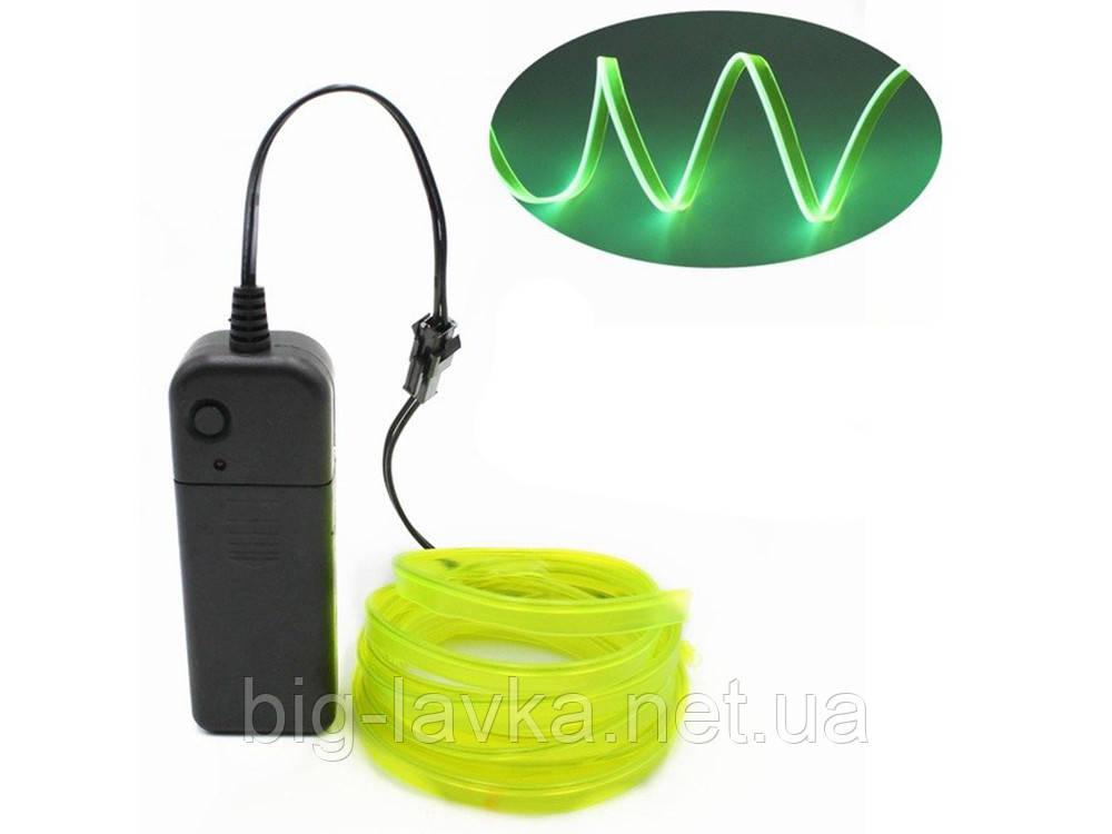 LED лента провод Apluses  Лимонный