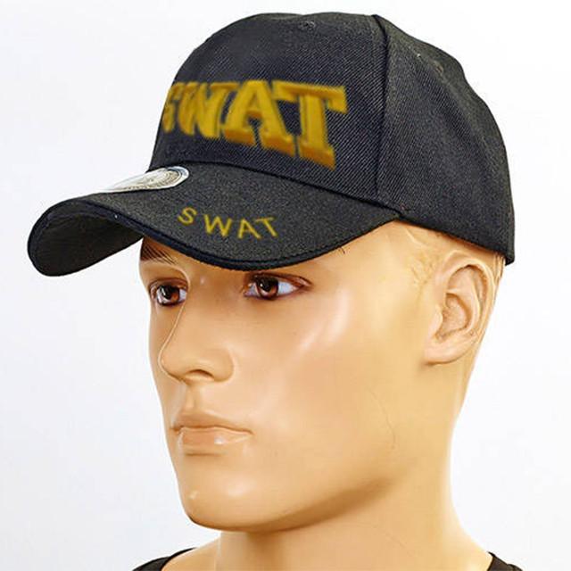 Бейсболка тактическая SWAT Tactical черная TY-6844