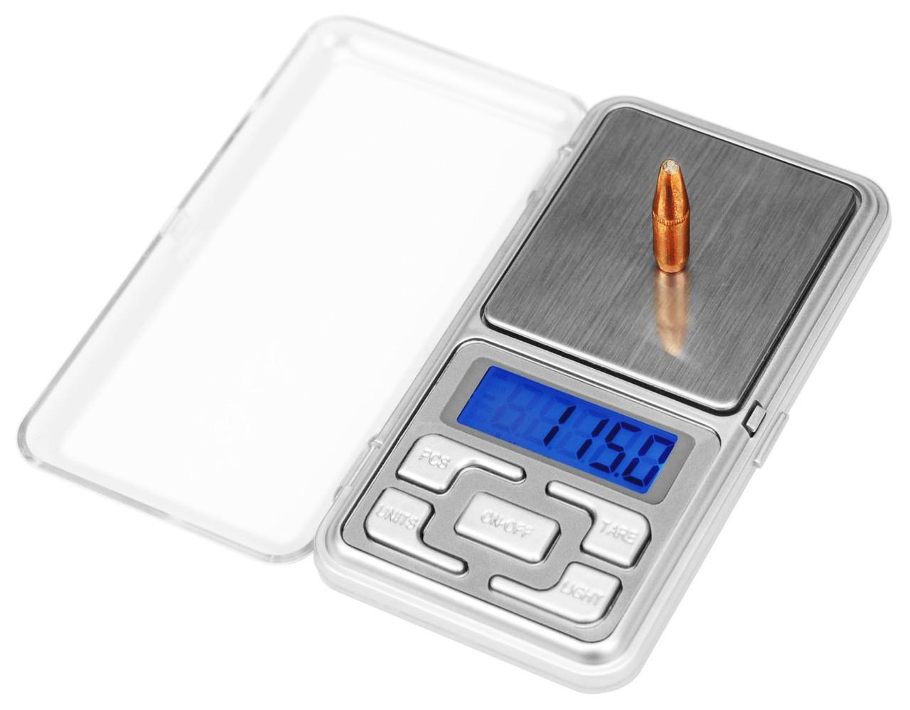 Карманные ювелирные весы 0,01 - 500 гр Domotec MS-1728A, Портативные, электронные 500гр