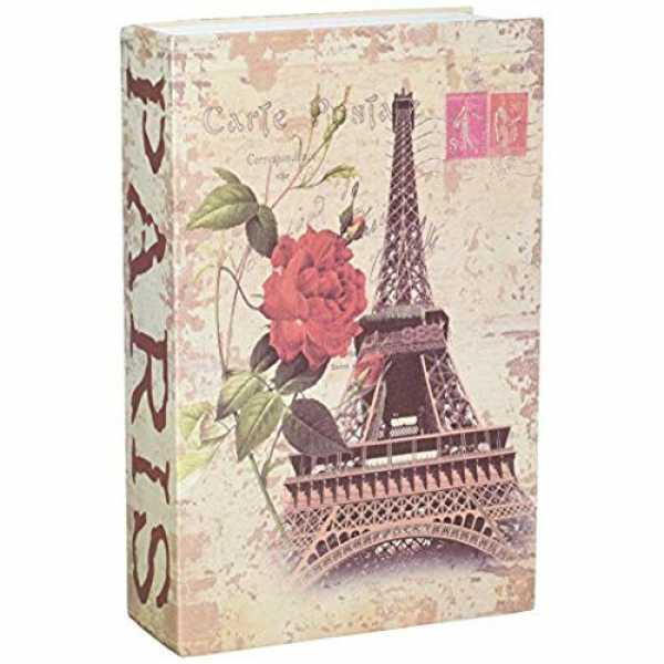 Книга-сейф MK 0791 металл/картон (Эйфелевая Башня)