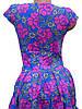 Красивое летнее платье в яркие цветы 42р, фото 4