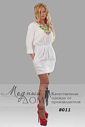 Женское платье-туника (44-60) 8011