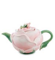 """Фарфоровый заварочный чайник """"Роза"""" (Pavone)"""