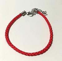 Браслет Красная нить обереговый, цвет красный \ Sb - 0167.