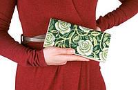 """Набор для вышивки клатчей """"Завитки роз"""" - С 222 клатч"""
