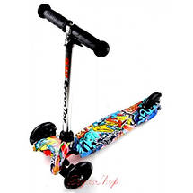 Детский самокат MINI Best Scooter с принтом в ассортименте, фото 3
