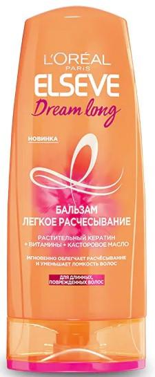 Акція -20% Бальзам L`Oreal Paris Elseve Dream long Легкое расчесывание, для длинных, поврежденных волос, 200 мл