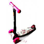 Детский самокат Maxi Best Scooter складной рисунок