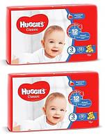 Подгузники Huggies Classic 3 (4-9 кг), 116 шт. (564530)