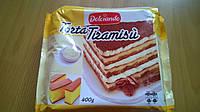 Десерт итальянский торт тирамису Torta Tiramisu Dolciando 400g