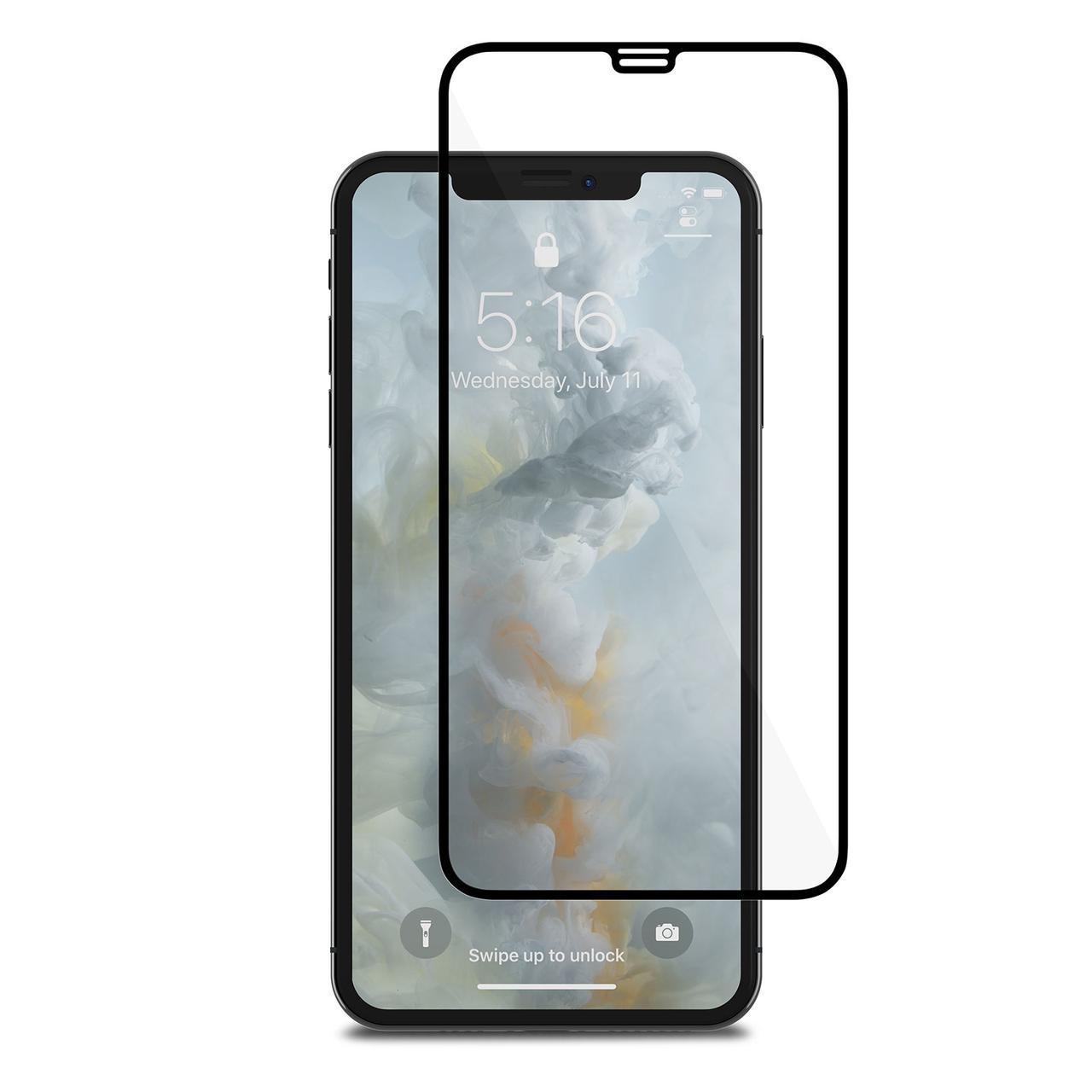 ✅ Защитное стекло 5D для iPhone XS Max  black