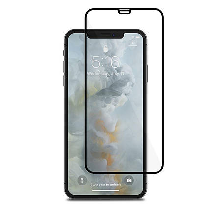 ✅ Защитное стекло 5D для iPhone XS Max  black, фото 2