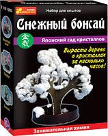 """Дерево из кристаллов """"Снежный бонсай"""" 0352"""