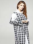 2311 платье Джели клетка, белый (S), фото 3