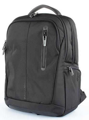 """Городской качественный рюкзак с отделением для ноутбука 15,6"""" IPad 10` 29 л. Roncato Overline 3851/01 черный"""