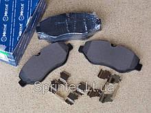 Колодки тормозные пер. MB Sprinter(906) /Vito(639) Brembo MEYLE 0252919220