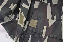 Бриджи мужские камуфляжные с накладными карманами XL - 5XL, фото 3