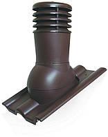 Вентиляционный выход Kronoplast KDB 150 мм для бетонной BRAAS, Аляска, и полимерпесчанной черепицы с колпаком, фото 1