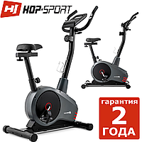 Велотренажер Hop-Sport HS-2080 Spark grey/red Магнітний, Німеччина, До 120 кг