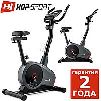 Тренажер велосипед Hop-Sport HS-2080 Spark grey/red 2018,120,9,Назначение Домашнее , 27, 24, BA100, Новое