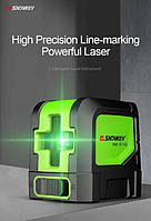 Лазерный нивелир лазерный уровень Sndway SW-311G самовыравнивающийся,зеленый лазер, фото 7