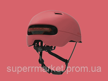 Шлем Xiaomi Smart4u City Light Ride Smart Flash Helmet SH50 Pink