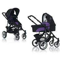 Универсальная коляска 2 в 1 ABC Design Mamba Purple-black